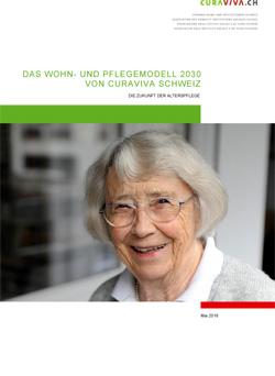 Titelblatt Factsheet Wohn- und Pflegemodell 2030