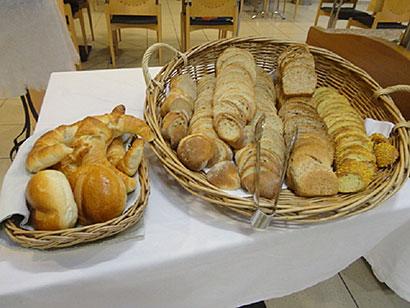 mmh, frisches Brot zum Frühstück