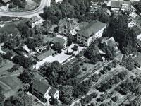 Alters- und Krankenheim Abendfrieden mit Villa Schwank anno 1958