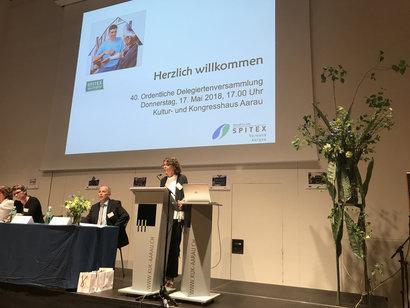 Jubiläums-DV 2018 im KuK Aarau