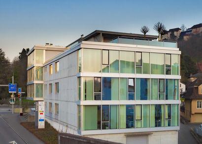 Neuer Geschäftssitz an der Niederlenzerstrasse 25 in Lenzburg