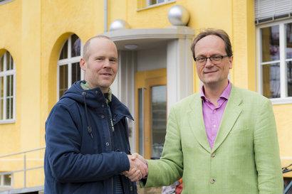 2017: Die Klinik im Hasel und die Spitex Region Lenzburg schliessen eine Kooperation ab.