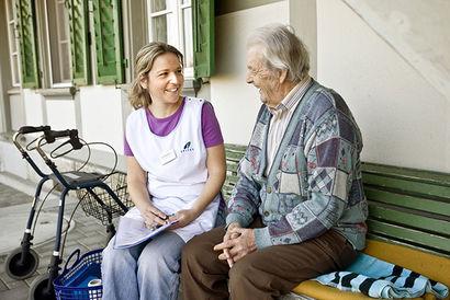 Spitex - kompetente Pflege mit Herz, Hand und Verstand