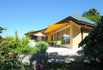Haus Felicitas, in der Nähe des Goetheanums, mit herrlicher Aussicht ins Laufen- und Leimental sowie nach Basel