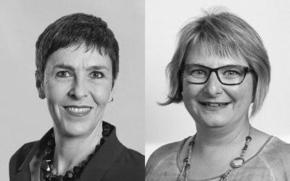 Barbara Gysi und Beatrice Weiler