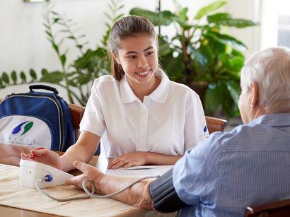 Stärkere Nachfrage nach Pflegeleistungen im Jahr 2016.